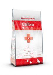Calibra Cat Veterinary Diets - Diabetes & Obesity Kip/aardappel 1.5kg