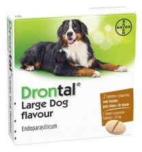 Drontal Large Dog 24 tabletten