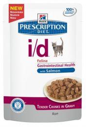 Hill`s Feline I/D maaltijdzakjes Zalm 48 x 85 gram