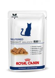 Royal Canin Cat Vet Care Neutered Satiety Balance 12 x 100 gram portieverpakkingen natvoeding
