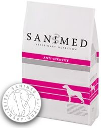 Sanimed Anti Struvite hond 12,5 kg