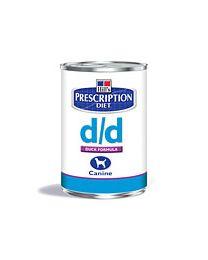 Hill`s D/D 12 blikken 370 gram Lam/rijst