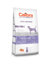 Calibra Dog Hypoallergenic Junior - Large Breed Kip/rijst 14 kg