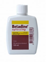 Betadine Jodiumoplossing 120 ml