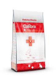 Calibra Cat Veterinary Diets - Diabetes & Obesity Kip/aardappel 1.5kg