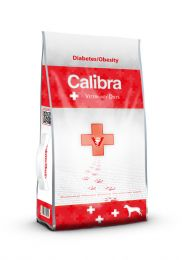 Calibra Dog Veterinary Diets Diabetes & Obesity Kip/Kalkoen 12kg