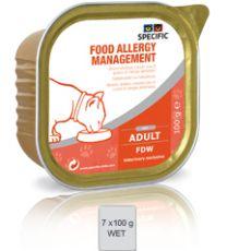 Specific Cat Food Allergy Management FDW  7 x 100 gram