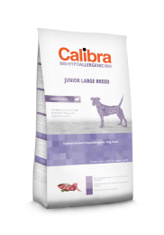 Calibra Dog Hypoallergenic Junior - Large Breed Lam/rijst 14 kg
