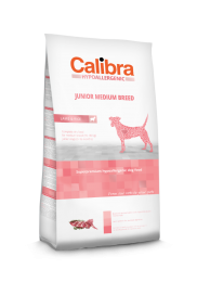Calibra Dog Hypoallergenic Junior - Medium Breed Lam/rijst 14 kg