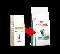 Royal Canin Cat Diabetic natvoer portieverpakking 12 x 100 gram