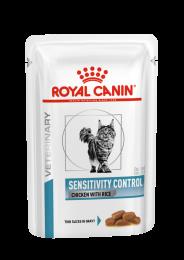 Royal Canin Sensitivity Control Cat Portie Kip - 1 x 12 porties Kip met rijst
