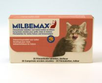 Milbemax Kleine Kat en Kitten 10 tabletten