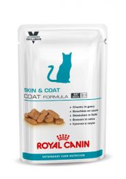 Royal Canin Cat Vet Care Skin Hairball 12 x 100 gram porties natvoeding