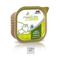 Specific Organic Diet F-BIO-W 6 x 7 x 100 gram Chicken