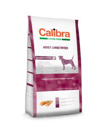 Calibra Dog Grain Free Large Breed Zalm/aardappel 2kg