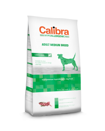 Calibra Dog Hypoallergenic Adult - Medium Breed Lam/rijst 14 kg