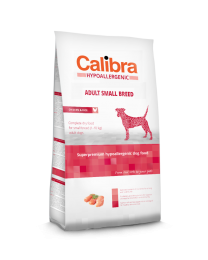 Calibra Dog Hypoallergenic Adult - Small Breed Kip/rijst 2 kg