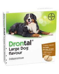 Drontal Large Dog 2 tabletten