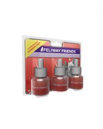 Feliway Friends navulverpakking Tripack 48 ml (3 stuks)