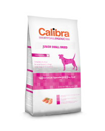 Calibra Dog Hypoallergenic Junior - Small Breed Kip/rijst 7 kg