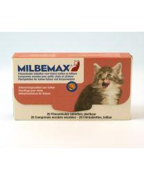 Milbemax Kleine Kat en Kitten 50 tabletten