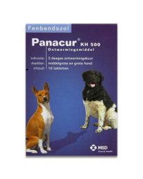 Panacur KH 500 10 tabletten