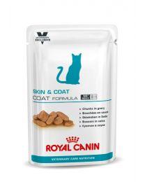 Royal Canin Cat Vet Care Skin Hairball 12 x 100 gram porties natvoeding