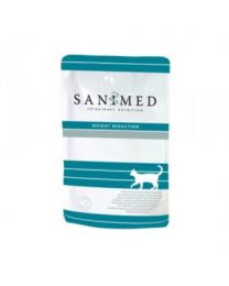 Sanimed Weight Reduction Cat 12 x 100 gram pouches