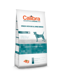 Calibra Dog Hypoallergenic Senior - Medium/Large Breed  Kip/rijst 14 kg