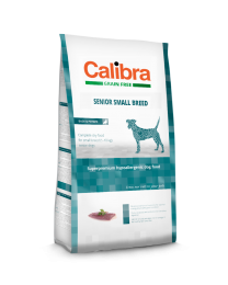 Calibra Dog Grain Free Senior Small Breed Eend/aarappel 2kg