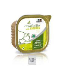 Specific Organic Diet F-BIO-W 6 x 7 x 100 gram Beef