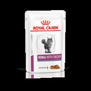 Royal Canin Cat Renal Kip - 12 porties 85 gram