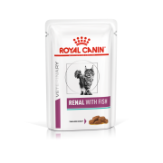 Royal Canin Cat Renal Fish - 12 porties 85 gram