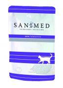 Sanimed Cat Skin Sensitive pouch - 12 x 100 gram