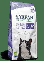 Yarrah Bio Kattenvoer Droog GF Sterilised - 700 gram