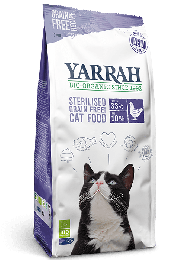 Yarrah Bio Kattenvoer Droog GF Sterilised - 2 kg