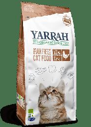 Yarrah Bio Kattenvoer Droog Graanvrij - 2,4 kg