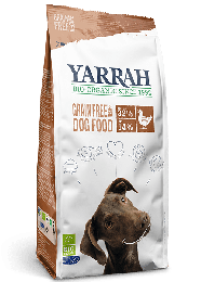 Yarrah Bio Hondenvoer Droog Graanvrij - 10 kg