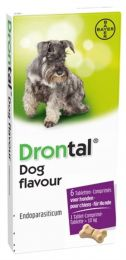 Drontal Dog 6 tabletten