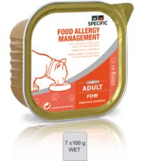 Specific Cat Food Allergy Management FDW  4 x 7 x 100 gram