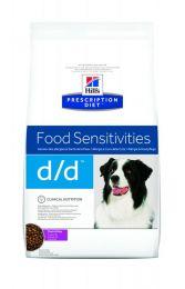 Hill`s Canine D/D 12 kg Eend /rijst