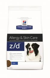 Hill`s Canine Z/D Allergy en Skin Care 10 kg