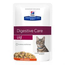 Hill's Feline i/d maaltijdzakjes Kip 12 x 85 gram