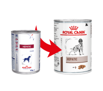 Royal Canin Dog Hepatic 1 tray 12 x 410 gram