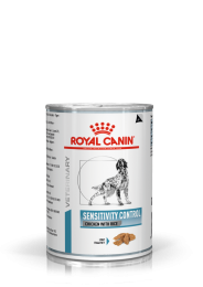 Royal Canin Dog Sensitivity Control 1 tray 12 blikken - 420 gram Kip en rijst