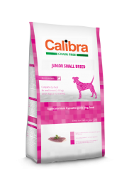 Calibra Dog Grain Free Junior Small Breed Eend/aardappel 7kg