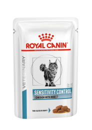Royal Canin Sensitivity Control Cat Portie Kip - 1 x 12 porties Kip met rijst
