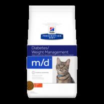 Hill's Prescription Diet m/d Feline (kip) - 1,5 kg