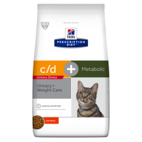 Hill's Prescription Diet c/d Urinary Stress + Metabolic Feline (kip) - 4 kg