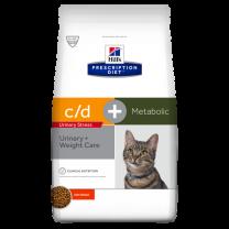 Hill's Prescription Diet c/d Urinary Stress + Metabolic Feline (kip) - 8 kg